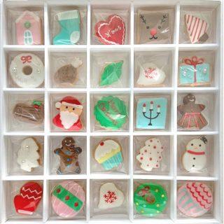 クリスマスアイシングクッキー モチーフ25個入り