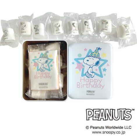 PEANUTS クッキー&マシュマロ HAPPY BIRTHDAY